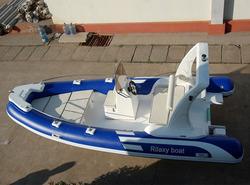18ft Fiberglass bottom boat inflatable