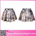 china wholesale grand linha deimpressão mapa adulto queimado de fotos mini saias das meninas