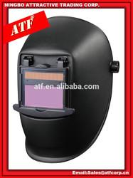 ATF CE EN175 EN379 approved Internal adjustment Solar Powered Auto-darkening Flip-up welding Helmet
