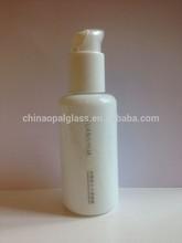 100ml pump sprayer glass bottle, fancy glass bottle, fragrance bottle