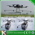 Não tripulados controle de pulverização agrícola de helicóptero, pesticidas agrícolas spray de helicóptero