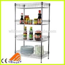 food storage 4-tier shelving unit, decorative shelving units, warehouse shelving units