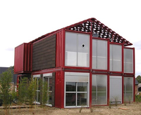 community center for the 'onagawa temporary container housing'