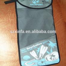 customized reusable drawstring nylon mesh gift bag