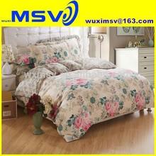 Vintage London bedding,digital printing cotton bedding,home use rose printing cotton bedding