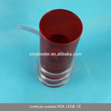 300ml strawdrinking wedding plastic mini beer mug shot glass