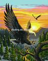 Chino de alta calidad venta al por mayor del águila hechos a mano DIY pintura al óleo