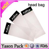 YASON opp header bag with hanged hole clear pvc bag with a hole header header card bags