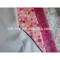 Custom printing light protect polyester satin blackout fabric