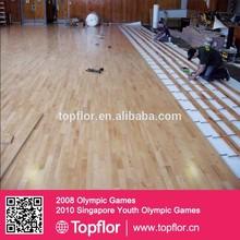 Maple Vinyl Basketball and Gym Flooring