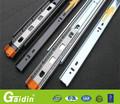 estilo francés china alibaba proveedor 3 veces la extensión completa de madera invisible del gabinete del cajón de diapositivas ferrocarril