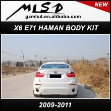 fiber haman style body kit / tuning kit/ auto parts for x6 e71