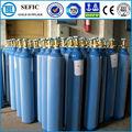 de alta presión de acero sin costura o2 cilindro de oxígeno de la botella