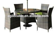 10229 courtyard furniture - outdoor rattan sofa