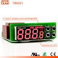Wh7860c + con certificación FCC del CE RoHs Fotek controlador de temperatura Mt20-R-E