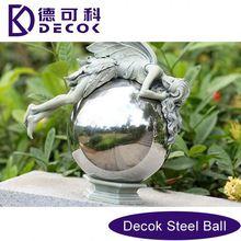 1M 1.5M 2M Dia Big Sizes Metallic Spheres Hollow Metal Balls