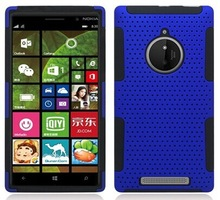 factory price mesh combo cell phone case cover for nokia lumia 830