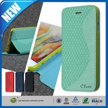 C&T Flip PU Leather Fold Wallet Pouch Case For HTC Desire Eye