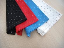wonderful quality handful fashion small dots printed 69%cotton 30%polyster 1%spandex denim fabric china suppliers