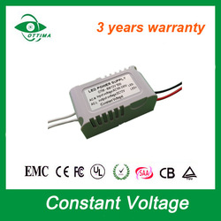 high pf 0.93 SAA CE Approved 6w 12v led drive constant voltage