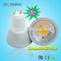 de alta 5w a lumen led 500lm gu10 spotlight equivalente a 50w lámpara halógena