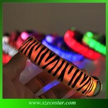 Factory Price LED Flashing Camouflage Pet Dog Collars