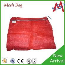 Cheapest Price drawstring hdpe raschel mesh bag firewood pack bag
