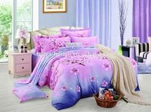 cheap wholesale cotton fabric fashion print flat sheet