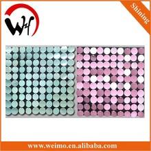 2015 New sequin wall panel flexible decoration plastic wall panels
