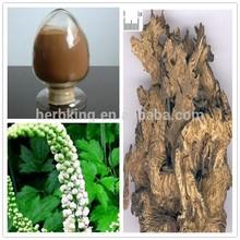 100% Natural CAS 84776-26-1 Triterpene glycosides Black Cohosh powder. By HPLC
