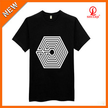Custom fancy kids t-shirt light rayon cotton offer deisgn help fast delivery