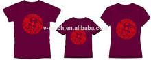 2015 latest Family Matching T-shirt ,Parents And Children Matching T-shirt