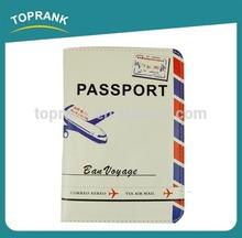 New design genuine leather passport holder black with great price