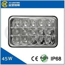 45w 24v 12v led driving lights, 45w offroad led spot light, led driving light 45w for kenworth trucks