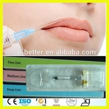 CE Certificate Cross Linked Hyaluronic Acid Dermal Filler, Breast Filler, Dermal Breast Augmentation Injectable