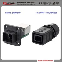 Adapter RJ45 Wifi RJ45 Connector Without Transformer, RJ45 Male to Female Adapter for Digital Media