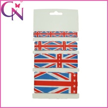 High Quality America Flag Hair Accessory Elastic Band For Girls (CNHBW-14112004)