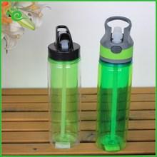 çift duvar şeffaf plastik soda şişeleri