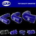 "Id=76mm( 3"")/cor azul/cotovelo 90 graus/desempenho universal mangueira de silicone"