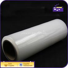 2015 PE PVC clear stretch film plastic wrap for pallet