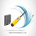 Tubular de plástico m18/retro- reflexiva/sensoriamento distância 300mm/dr-300n/cilíndrica infravermelho sensores fotoelétricos