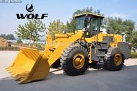 WOLF wheel loader Chinese Wheel Loader 5 ton ZL 50, WL 500
