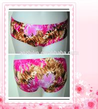 Women's One Piece Underwear Fashion Printing Modern Design Panties