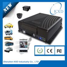 Economical H.264 4ch vehicle mobile DVR car security gps tracker