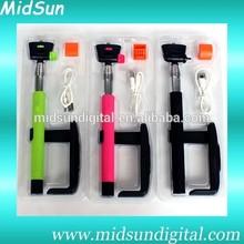 best selling selfie stick extendable bluetooth monopod,self monopod,selfie bluetooth monopod