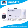 smart security monitoring wireless home security tamperproof gsm alarm with 6 wireless zones, 4 connections for wired sensor