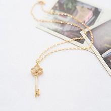 Newest design jewelry diamond key necklace for women in 2015