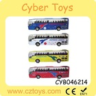 2015 Newest 1:70 scale diecast model toy bus metal toy bus with light&sound