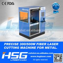 High Precision Fiber Electronics Laser Metal Cutting Machine Engraver HS-P0637