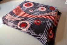 100% Polyester weft Mink blanket factory